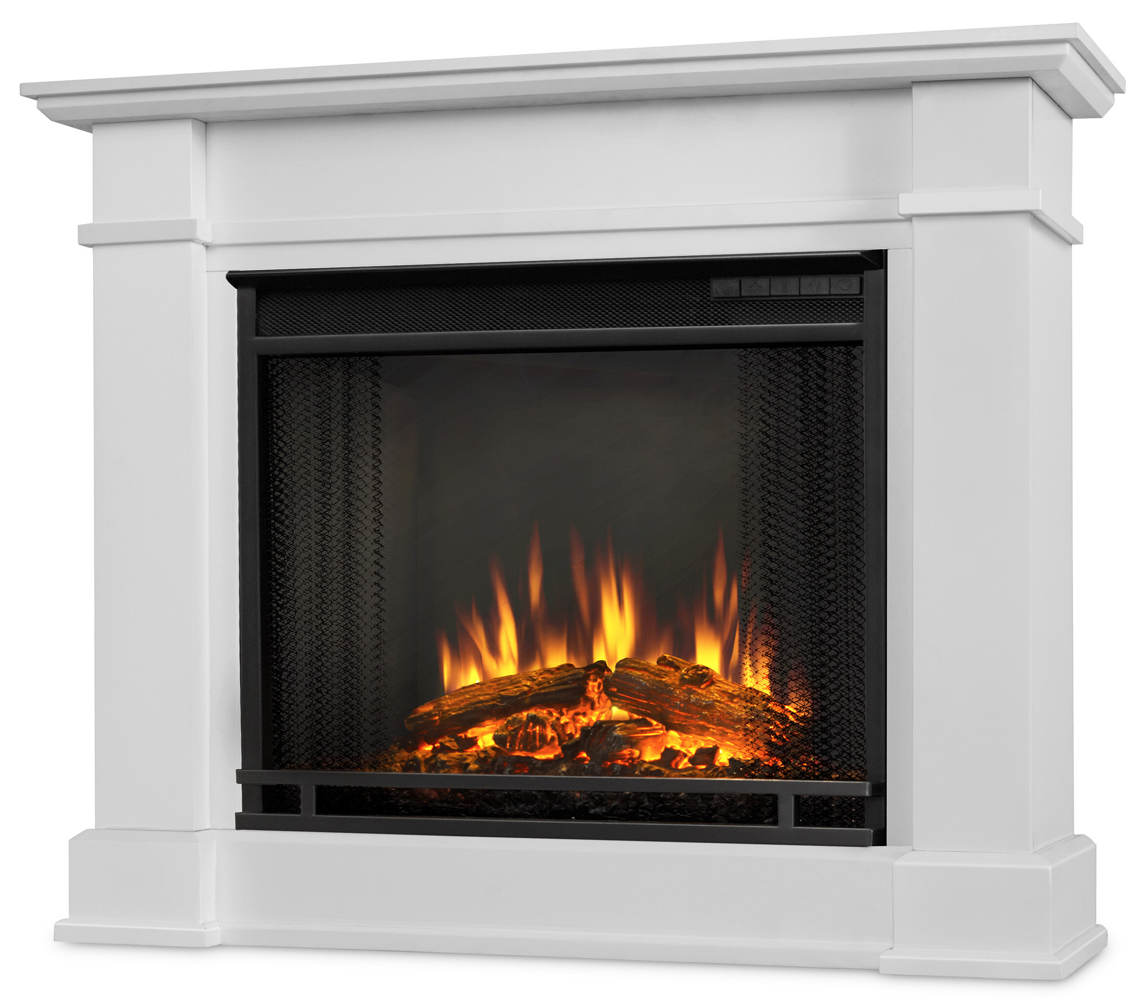 Real Flame Devin Petite Electric Fireplace Reviews Wayfair