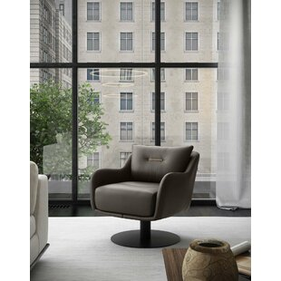 Platt Swivel Lounge Chair by Modloft Black Looking for