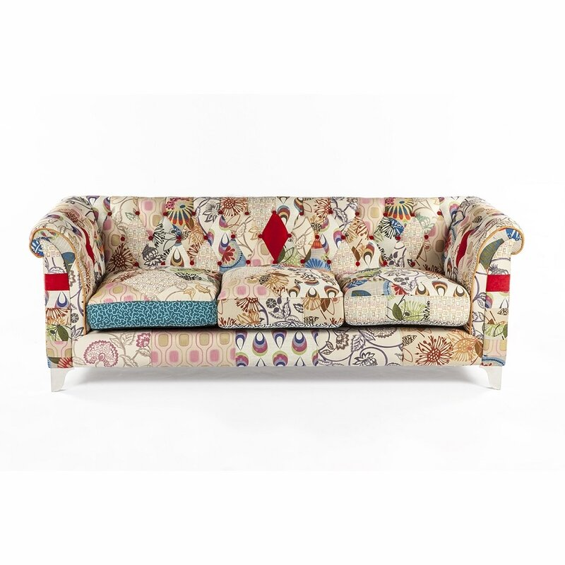 Charmant Boho Chesterfield Sofa