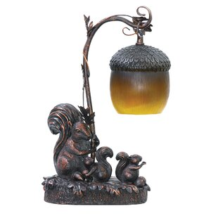 Gracie Oaks Mantz Squirrel Acorn 14.5