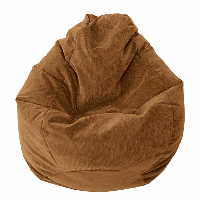 Tremendous Teardrop Microfiber Suede Corduroy Medium Bean Bag Chair Uwap Interior Chair Design Uwaporg