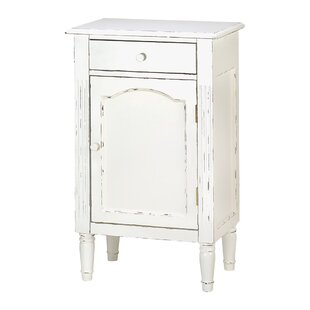 Shabby 1 Drawer Elegance Cabinet by Zingz & Thingz