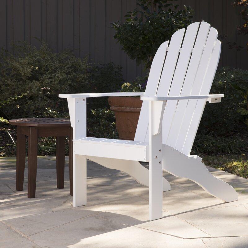 Lares Solid Wood Adirondack Chair