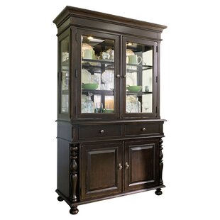 Sweet Tea Lighted China Cabinet