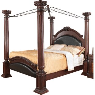Fechteler Upholstered Canopy Bed by Astoria Grand