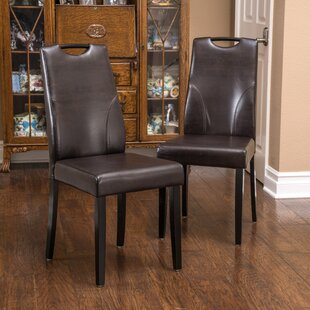Buy clear Hester Upholstered Dining Chair (Set of 2) by Home Loft Concepts