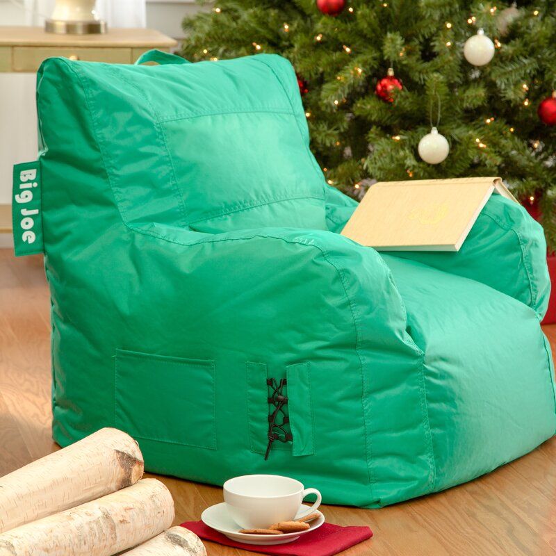 Lounger Bean Bag Chair comfort research bean bag lounger & reviews | wayfair