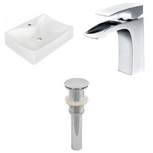 Buying Ceramic 21.5 Bathroom Sink with Faucet By Royal Purple Bath Kitchen