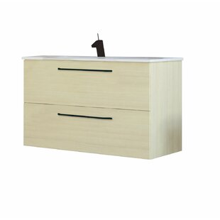Dovercliff 800mm Wall Hung Single Vanity Unit By Belfry Bathroom