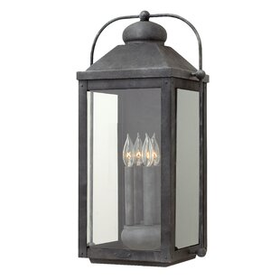Reviews Anchorage 4-Light Outdoor Wall Lantern By Hinkley Lighting