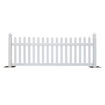 Greenes Fence 2 ft  H x 4 ft  W Critter Guard Garden Wood Fence