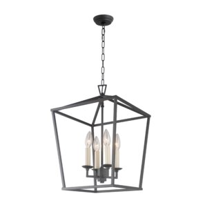 Stanek Iron Cage Openwork 4-Light Lantern..