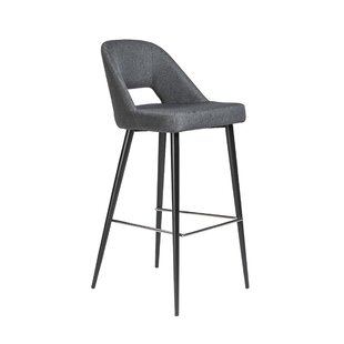 Odea 39.38 Bar Stool Brayden Studio