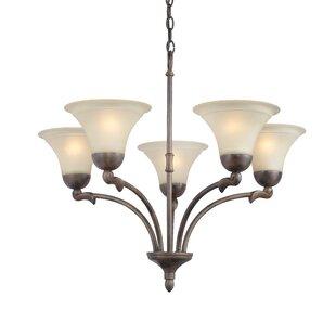 Woodbridge Lighting Darien 5-Light Shaded Chandelier