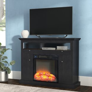 Osmond 46 TV Stand with Fireplace by Latitude Run