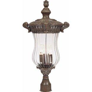 Melrose Outdoor 3-Light Lantern Head by Volume Lighting