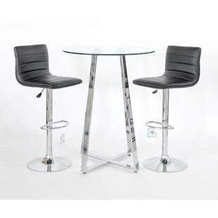 Shantae 3 Piece Pub Table Set By Metro Lane