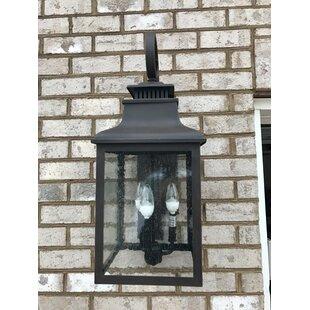 Marcy 3-Light Outdoor Wall Lantern by Alcott Hill