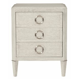 Domaine 3 Drawer Nightstand by Bernhardt