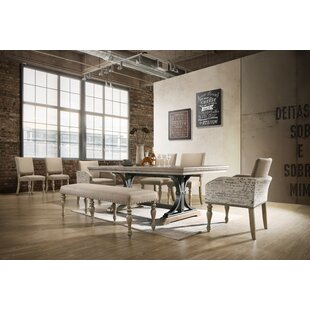 Dasher 8 Piece Drop Leaf Dining Set by One Allium Way Design