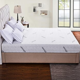 Cr Sleep Ventilated Memory Foam Mattress Pad