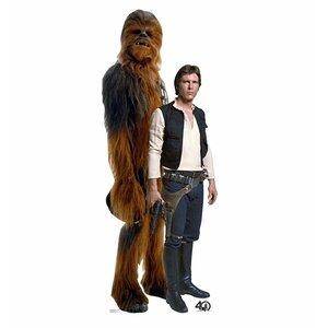 Star Wars 40th Han Solou2122 and Chewbaccau2122 Standup
