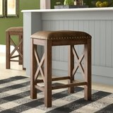 Takengon Stationary Counter Height 26 Bar Stool (Set of 2) by Gracie Oaks
