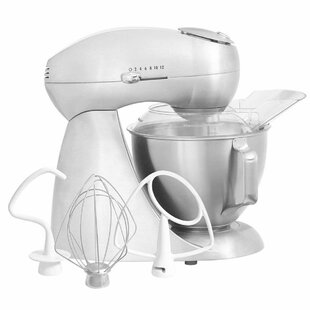 Eclectrics® Sterling All-Metal 12 Speed Stand Mixer