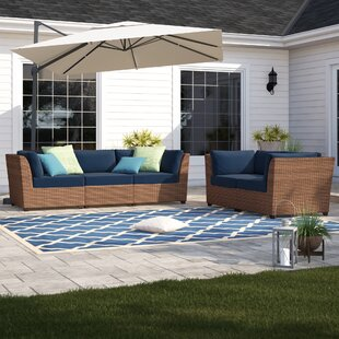 Waterbury 5 Piece Sofa Seating Group with Cushions