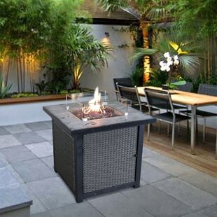 Garfinkel Concrete Propane Fire Pit Table By Sol 72 Outdoor