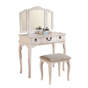 Compare & Buy Haviland Vanity Set with Mirror By Astoria Grand