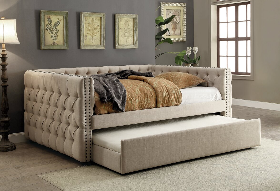 Darby Home Co Zael Contemporary Daybed & Reviews | Wayfair