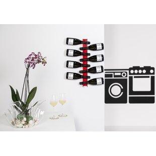 Mcathur 8 Bottle Wall Mounted Wine Rack By Ebern Designs