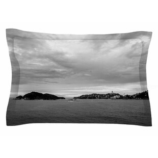 Nick Nareshni 'Deep Cloudy Ocean' Photography Sham by East Urban Home Looking for