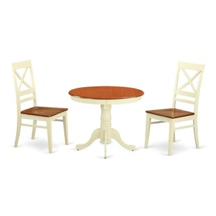 3 Piece Dining Set by Wooden Importers 2019 Salet