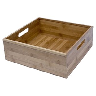 Canvas Storage Solid Wood Cubes & Bins By Richards Homewares