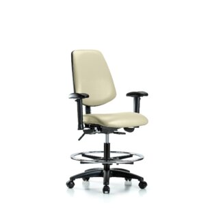 Symple Stuff Iyanna Bench Foot Ring Office Chair