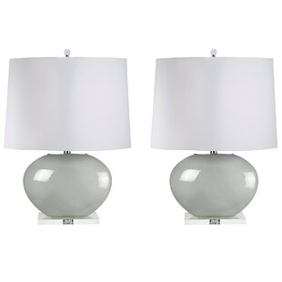 Finlandia Blown Oval 27 Table Lamp (Set of 2)