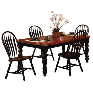 Banksville 5 Piece Dining Set by Loon Peak #1