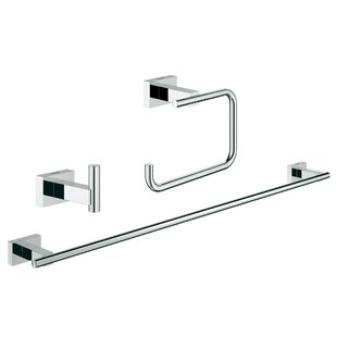 Essentials 3 Piece Bathroom Hardware Set