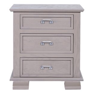 Cavali 3 Drawer Nightstand