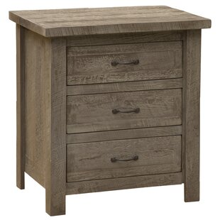 Frontier 3 Drawer Nightstand by Fireside Lodge
