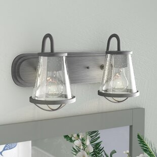 Order Regan 2-Light Vanity Light By Beachcrest Home