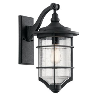St Croix 1-Light Outdoor Wall Lantern by Beachcrest Home