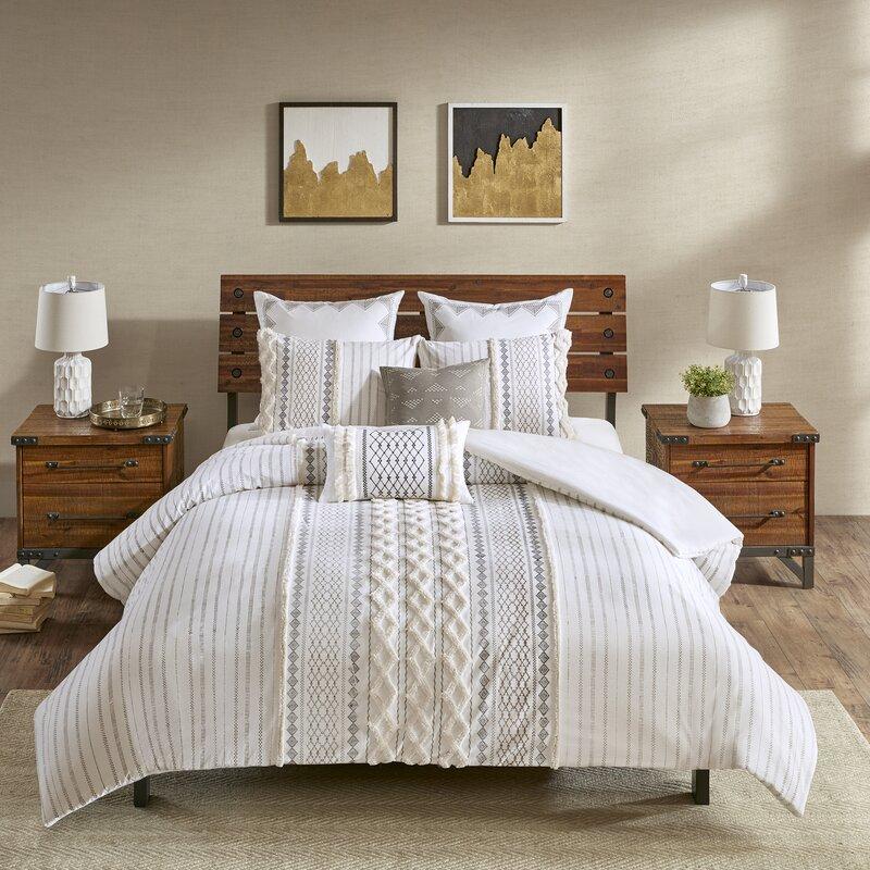 Jenkinsburg Comforter 100 Cotton 3 Piece Bedding Set Reviews Birch Lane