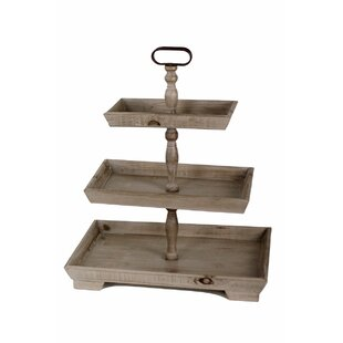 Dillwyn Rectangular 3 Tier Display Tiered Stand