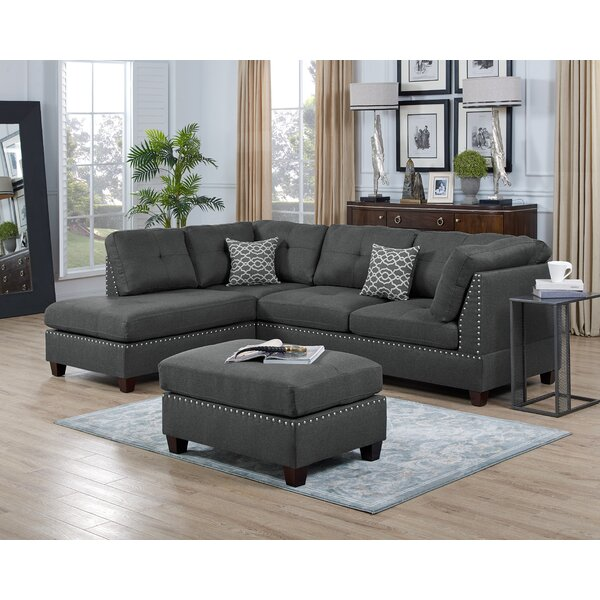 Extra Long Sectional Couch Wayfair