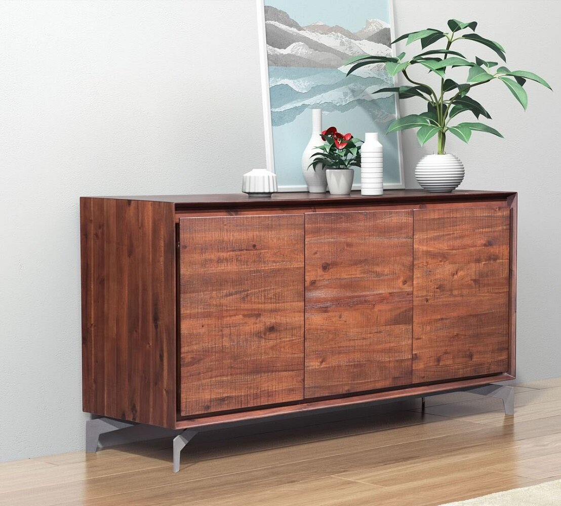 Foundry select candlewood rustic buffet table wayfair