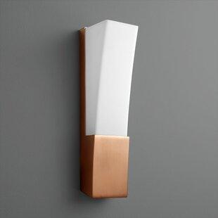 Cresent 1-Light LED Flush Mount by Oxygen Lighting