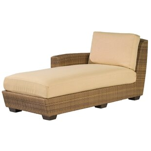 Woodard Saddleback Left Hand Chaise Lounge Sectional Piece